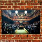 BANKSY GRAFFITI MONKEY PARLIAMENT POSTER QUALITY WALL ART PRINT PICTURE A4 A3 A2