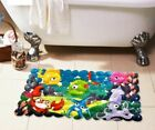Cartoon Design Non Slip Suction Mat Clear Quackers Kids / Childs Bath Shower Mat