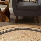 Anji Mountain Kerala Mist Jute ROUND Rug NEW choose from 4' 6' 8'