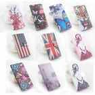 "Fancy Printing Painting Wallet Folio Leather Case Stand For 5.5"" Huawei Honor 5A"