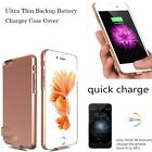 Ultra Thin Power Bank Battery Backup Case Charger Cover For iPhone 6 6S 7 Plus