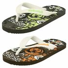 Boys Samoa Plugged Patterned Insole Sandals Justin / Flat / Slip ON