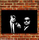 BLUES BROTHERS MOVIE FILM CANVAS PRINT WALL POP ART PICTURE SMALL MEDIUM LARGE