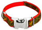 Country Brook Design® Premium Southern Forest Camo Ribbon Dog Collar