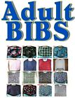ADULT BIBS, Elderly, Caregiver, Prevent Spills, Protect Clothing, Several Styles