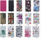 Card Slot Holder PU Leather Flip Wallet Case Cover Butterfly For HTC Desire 626