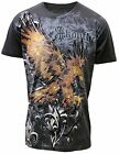 Konflic MMA Men's Eagle Wing All Over Print T-Shirt 552-CH
