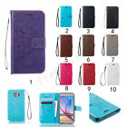 Flip Pattern Leather Wallet Case Strap Stand Card Holder Cover Fr Samsung Galaxy