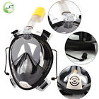 100% New Breath Full Face Mask Surface Diving Snorkel Scuba for GoPro Swim Tools