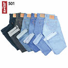 VINTAGE LEVIS 501 HIGH WAISTED MOM BOYFRIEND WOMENS JEANS UK SIZE 12,14,16 GRADE