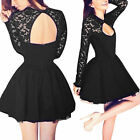 Kyпить Sexy Women Summer Lace Floral Casual Short Party Evening Cocktail Mini Dress New на еВаy.соm