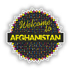 2 x Welcome To Afghanistan Vinyl Stickers Travel Luggage #7774