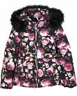 Le Chic Girl's Puffer Jacket In Floral Print, Sizes 3-14