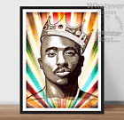 TUPAC / 2Pac- Hip Hop Rap Art Quote Poster Print + Frame