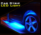 2pcs LED Strip Car Body Underglow Light Waterproof Boat TV Home Stop Decoration