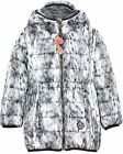 Nono Girl's Puffer Coat in Fur Print, Sizes 4-16