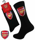 1 Boys ARSENAL Crest Badge FOOTBALL CLUB Soccer Team Socks UK 4-6