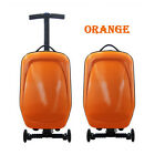 Unisex Suitcase Scooter Carry on Suitcase 21L Boarding Luggage Travel Bag