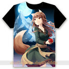 Anime Spice and Wolf Holo Black T-shirt Unisex Tee Tops Cosplay S - XXXL #N723