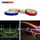 Reflective Body Stripe Sticker DIY Tape Self-Adhesive Various Colors / Sizes