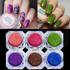 Holographic Holo Glitter Laser Powder Nail Art Gorgeous Pigment DIY Decoration