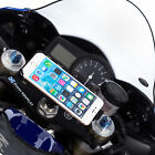 Motorcycle Bike Fork Stem Powered Mount + Holder for iPhone 6 6s plus 5.5""