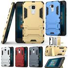 Hybrid Shockproof Rubber Rugged Armor Kickstand Case Cover For Huawei Phone