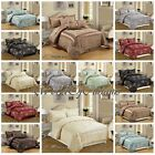 New jacquard 3 piece & 7 Piece Bedspread  Bedding Set With Matching Cushions