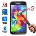 2x 9H Premium Tempered Glass Film Screen Protector Cover For Samsung Galaxy S6 7