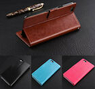For Oppo A59 F1s Retro Leather Wallet case Back Cover