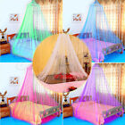 Lace Bed Mosquito Netting Mesh Canopy Princess Round Dome Bedding Net MultiColor image