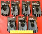 Nike Men's Fundamental Training Workout  Gloves Grey Black Volt Large & X-Large