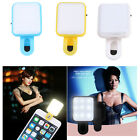 Mini Portable Rechargeable LED Flash Selfie Fill Light Lamp Lighting for iPhone
