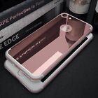 Luxury Ultra Slim Mirror Back Soft Silicone TPU Clear Bumper Phone Case Cover  <br/> Hot Selling!Sold 8500+.For Apple/For Samsung/For Huawei