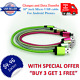 """10"""" inch Short Aluminum Micro USB Cable Charging Cord Android Samsung Charger"""