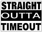 Straight outta timeout tshirt one piece baby newborn infant toddler Compton