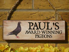 PERSONALISED DOVECOTE SIGN PIGEON LOFT SIGN YOUR OWN WORDING WEATHERPROOF SIGNS