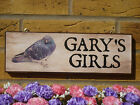 PIGEON LOFT SIGN PIGEON PLAQUE PIGEON KEEPERS GIFTS OUTDOOR SIGN GARDEN SIGNS