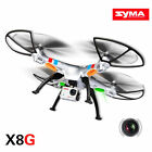 Syma X8G RC Drone Quadcopter with 8MP HD Camera Headless Mode+2 Spare Battery