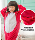 Kid Red Ali Cat Sleepwear Child Cartoon Animal Kigurumi Nonopnd Loungewear Child
