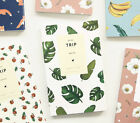 Lovable Trip Note Travel Planner Diary Schedule Book Cute Pattern Scrapbook