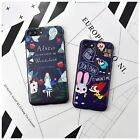 Cute Cartoon Soft TPU Silicone Rubber Phone Back Case Cover for iPhone 7 Plus 6s