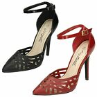 Ladies Anne Michelle Court Shoes - Ankle Strap