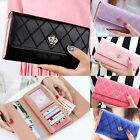 new women purse clutch leather PU wallet long card holder mobile phone handbag