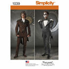 Simplicity 1039 Mens Jack Skellington Steampunk Costume Pattern Sz 6-22