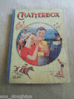 RARE Vintage Retro Book CHATTERBOX Undated c. 1948