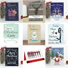 Personalised Christmas Xmas Card any Name Message Single or Multi Pack of Cards