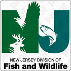 STICKER GOV New Jersey Fish And Game