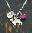 Cat Necklace, Cat Charm, Cat Lover Gift, Cat Gifts, Cat Memorial, PERSONALIZED
