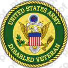 Sticker Us Army Vet Disabled Veteran New